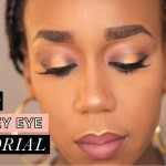 BEAUTY| GOLD SMOKEY EYE TUTORIAL | SPRING 2016