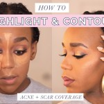 BEAUTY | HOW TO HIGHLIGHT & CONTOUR | DARK SKIN
